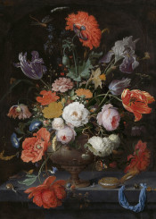 classical painting flowers classic
