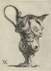 vintage vase graphic ornaments