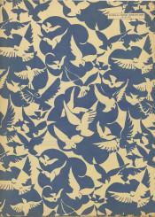 vintage pattern fabric animals