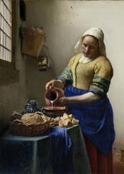 johannesvermeer vermeer classical classic oil painting rijksmuseum milkmade