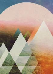 abstract landscape illustration design graphicdesign digitalart