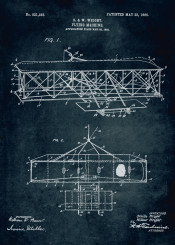 1903 flying machine inventors inventor wright brothers patent patents vintage fly airplane first