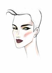 fashion fashionart fashionportrait portrait style beauty makeup hair lipstick woman model eyes fashionillustration