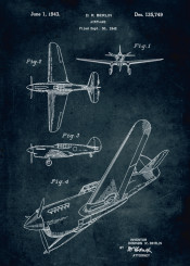 1942 airplane inventor donovan berlin fly patent patents vintage