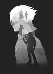 final fantasy noctis retina gaming shadows gamer games video room black white darkness