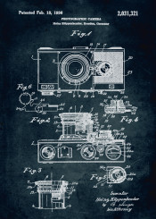 1936 photographic camera inventor heins kuppenbender photography patent patents vintage photo first