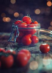 tomatoes vegetable food feed light rustic ambient