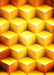 geometry geometric blocks block gold orange