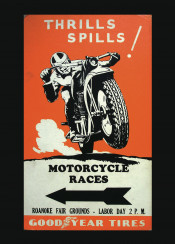 vintage, poster, vintageposter, motorcycle