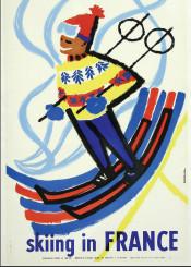 vintage,poster,vintageposter,skiing,sport