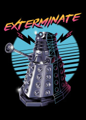 exterminate dalek who doctor tv series popculture