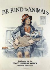 vintage, vintageposter, poster, dog, animals