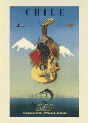 vintage,vintageposter,poster,travel,chile