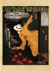 vintage, poster, vintageposter, coffee