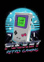 pocket retro gaming popculture video game videogames
