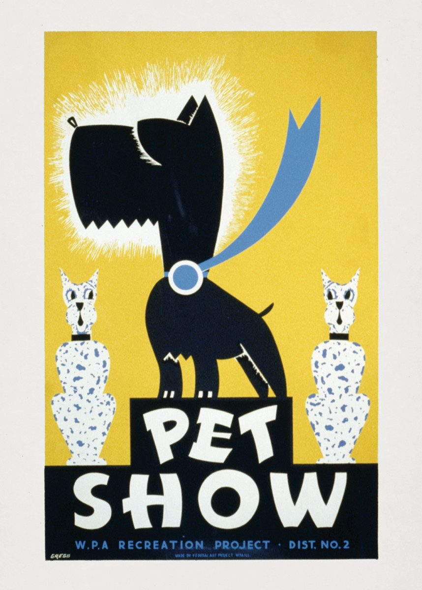 Vintage Animals Poster