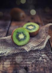 kiwi fruit feed food sweet wood dark rustic light