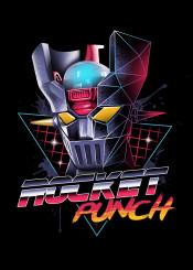 rocket punch movie anime popculture pop culture mazinger