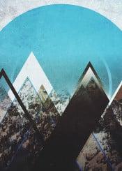 abstract landscape digital illustration design graphicdesign