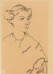 egonschiele,schiele,portrait,woman,met