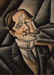 juangris,gris,cubism,abstract,portrait,man
