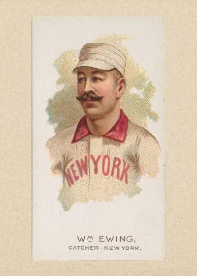 Fine Art   Vintage Baseball Cards   Displate Prints on Steel