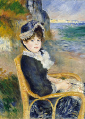 renoir,augusterenoir,painting,impressionism,woman
