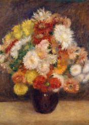 renoir,augusterenoir,painting,flowers,bouquet,impressionism