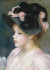 renoir,augusterenoir,impressionism,painting,portrait,woman