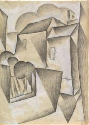 juangris,gris,illustration,drawing,cubism
