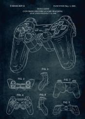 1998 2001 controller game machine playstation play gamer gaming asassins fifa inventor teiyu goto patent patents sony play1 play2 play3 play4 gta gt ps vintage