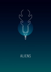 sciencefiction movie minimalism space cosmos aliens planet monsters queen