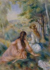 augusterenoir,renoir,impressionism,portrait,landscape,painting