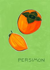 persimon fruit kitchen