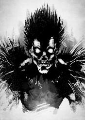 death note ryuk shinigami light yagami anime manga demon god