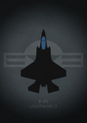 f35 lightning jet plane figher weapon black