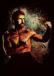 chuck norris eddie fighter martialart martial artist roundhouse