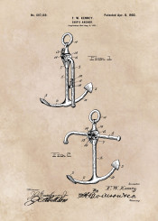 patent patents jbjart ship ships anchor sea decor decoration illustration marine