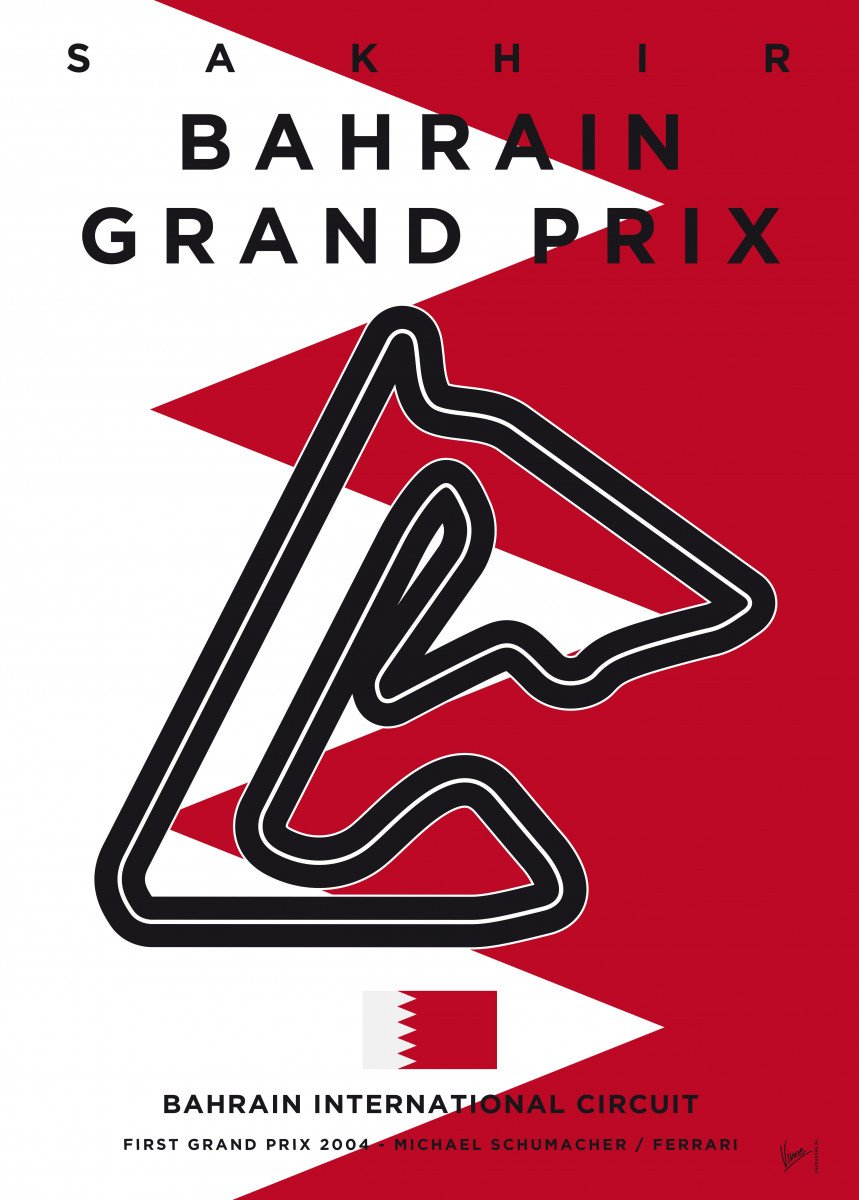Awesome Minimalist Formula One Posters by chungkong. nl. 306553