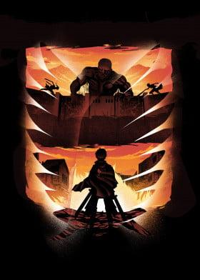 Anime by Best Walls | metal posters - Displate