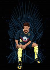 futbol club america oribe peralta mexican mexico rey trono campeon