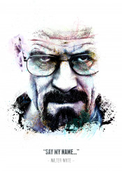 bryan cranston actor tv movies legend legendary legends iconic icon swav cembrzynski collection splatter texture water color quote