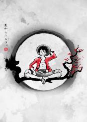anime manga luffy japan nature