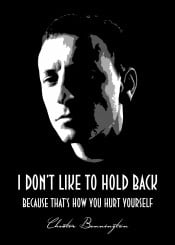 chester bennington chesterbennington linkinpark rip restinpeace rock beegeedoubleyou black grey white quote quotes saying sayings music legend