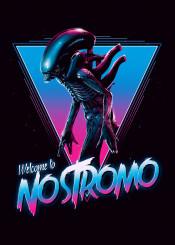 alien predator 80s neon retro xenomorph nostromo ripley