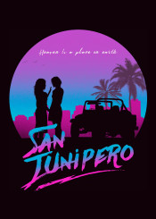 san junipero 80s retro neon women woman girls love