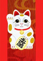 manekineko luckycat cat japan japanese oriental