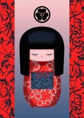 kokeshi doll japan japanese oriental