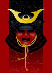 japan japanese warrior armor samurai mask