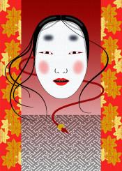 japan japanese mask noh theatre oriental